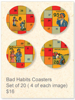 Coasters: bad habits